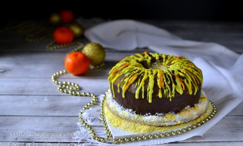 Torta cioccolato e crema di arance