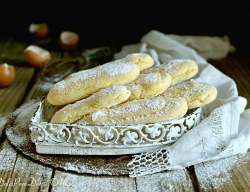 Biscotti savoiardi fatti in casa