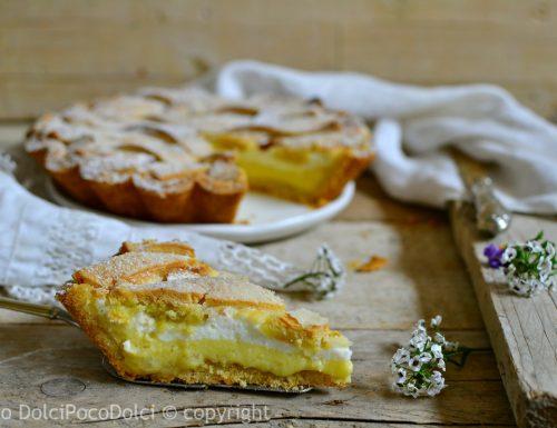 Crostata ricotta e crema