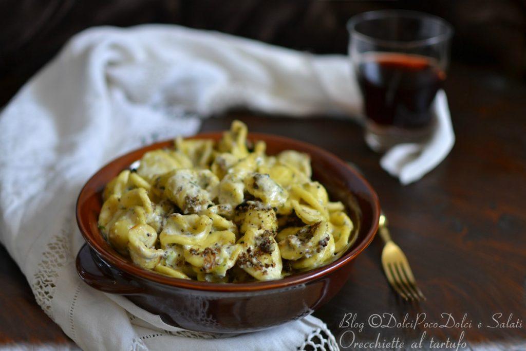 Pasta tartufo e zucchine