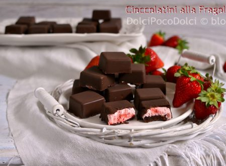 Cioccolatini alla fragola – Strawberry Chocolates