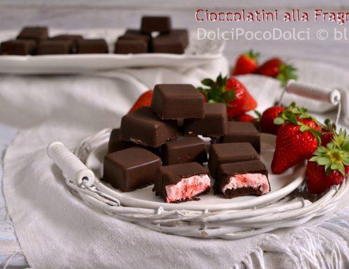Cioccolatini alla fragola – Strawberry Chocolates
