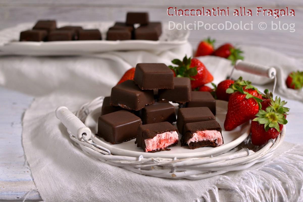 Cioccolatini alla fragola