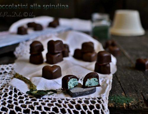 Cioccolatini alla spirulina – Chocolates