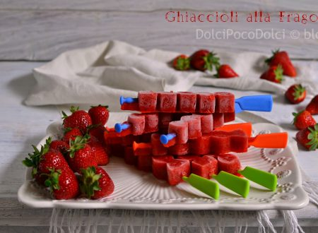 Strawberry Popsicles – ghiaccioli alla fragola