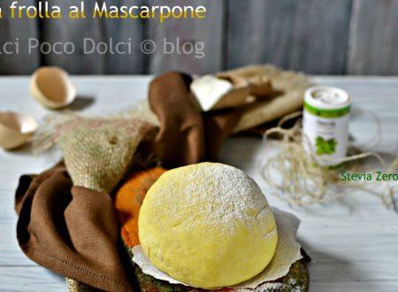 Pasta frolla al mascarpone senza burro