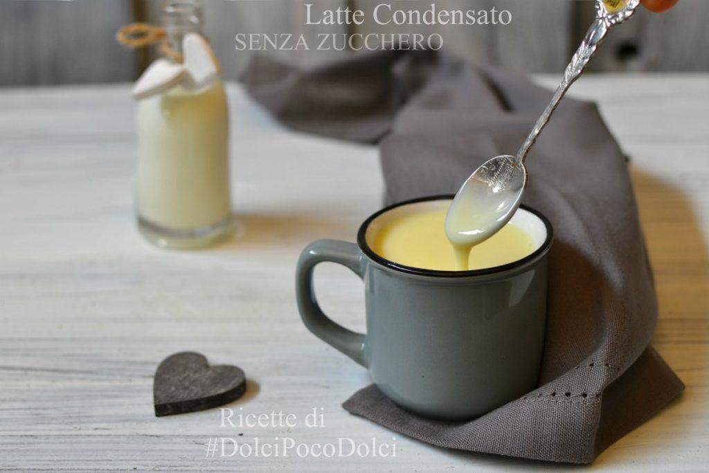 Latte condensato senza zucchero