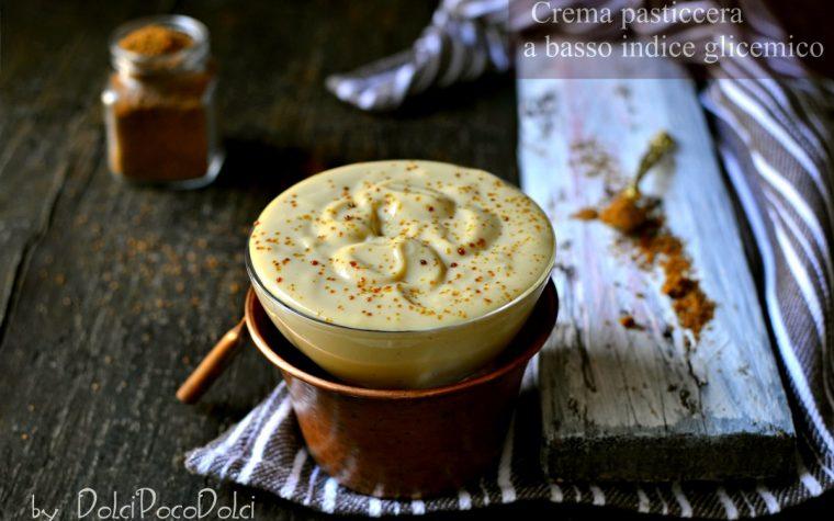 Crema pasticcera a basso indice glicemico con zucchero di cocco