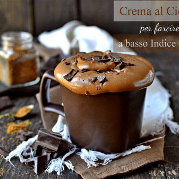 Crema al cioccolato a basso Indice Glicemico