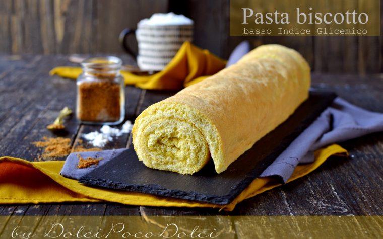 Pasta biscotto per rotolo dolce a basso indice glicemico