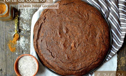 Torta da colazione al cioccolato a basso indice glicemico