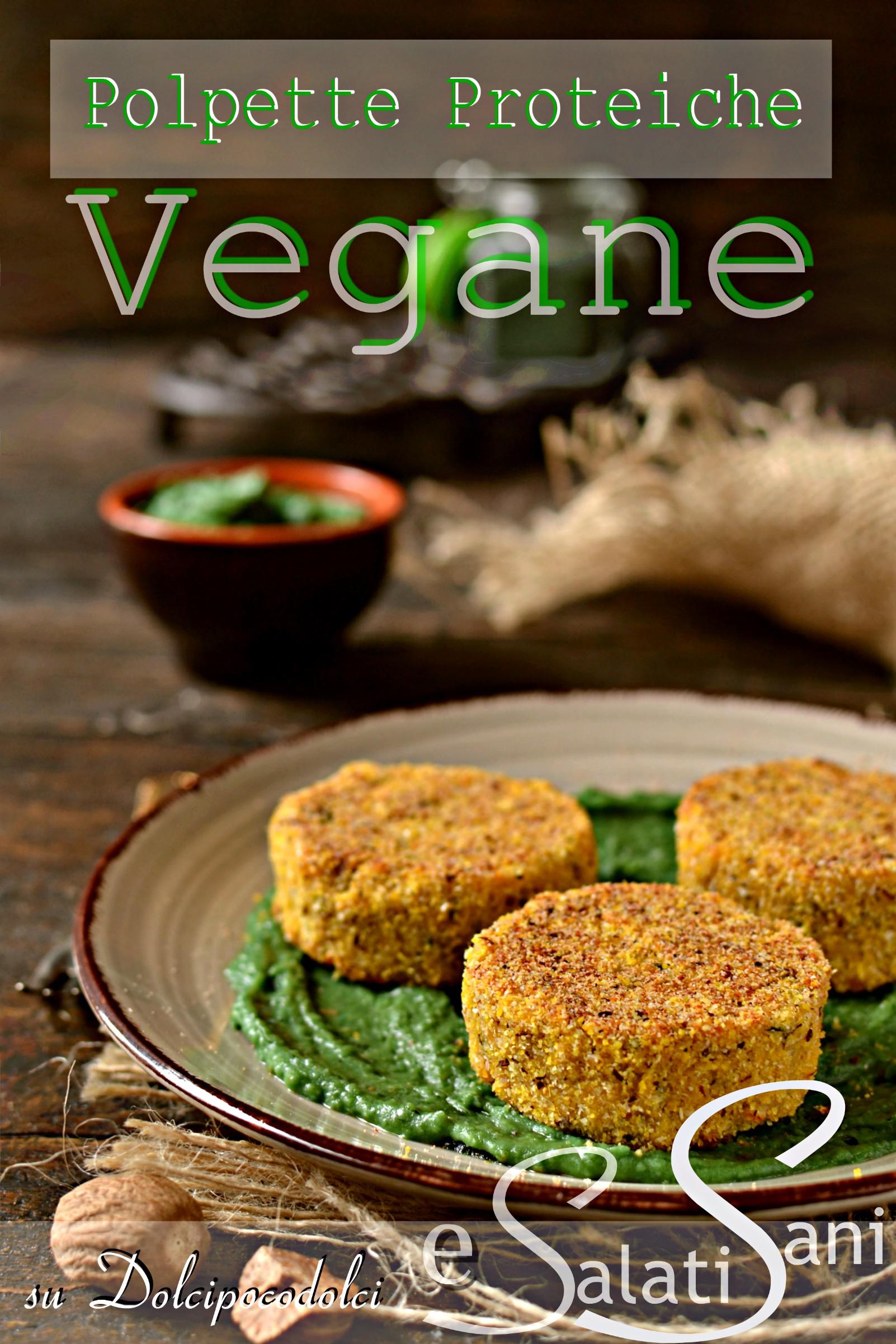 Polpette vegane proteiche alla spirulina