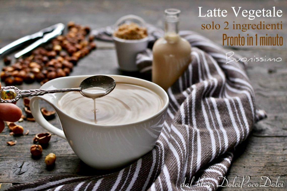 Latte di nocciole fatto in casa