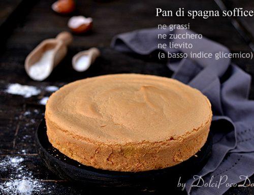 Pan di spagna soffice per torte