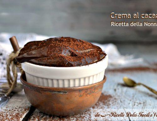 Crema al cacao ricetta della nonna