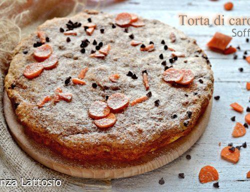 Torta di carote senza lattosio morbidissima a basso indice glicemico