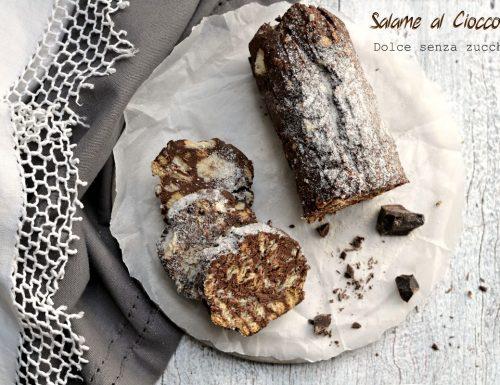 Salame al cioccolato Dolce senza zucchero