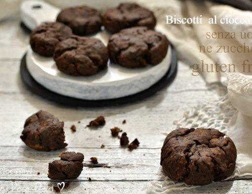 Biscotti  al cioccolato senza uova ne zucchero e gluten free
