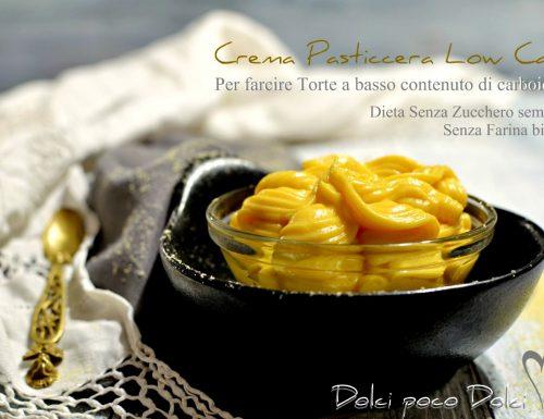 Crema pasticcera dieta Low Carb