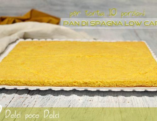 Pan di Spagna low carb