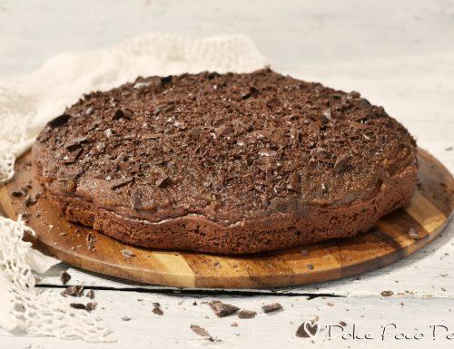 Torta colazione morbidissima al cacao e tanto yogurt senza uova ne zucchero