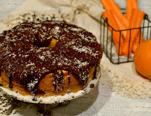 Angel cake alla carota