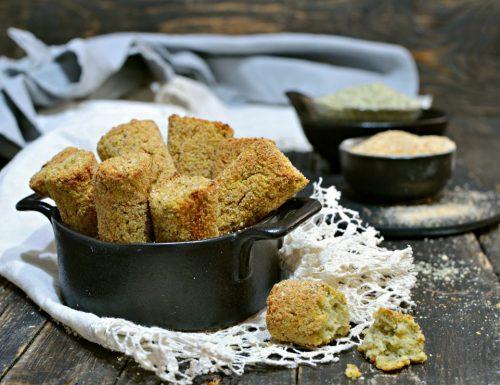 Crocchette di purè di patate al forno proteiche