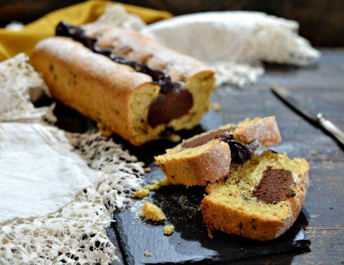 Plumcake o cookie cake senza bilancia con biscotti pan di stelle