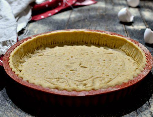 Pasta frolla per crostata senza burro ne zucchero semolato con bimby e senza