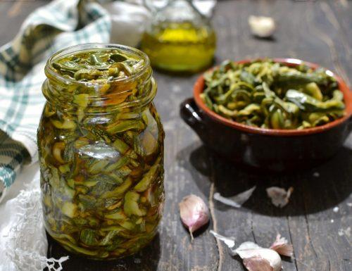 Zucchine sott'olio fatte in casa