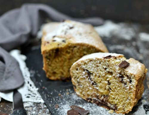 Plumcake stevia acqua e farina integrale ricetta senza zucchero per dieta e diabete