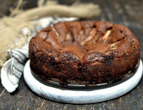 Torta pere e cioccolato morbidissima
