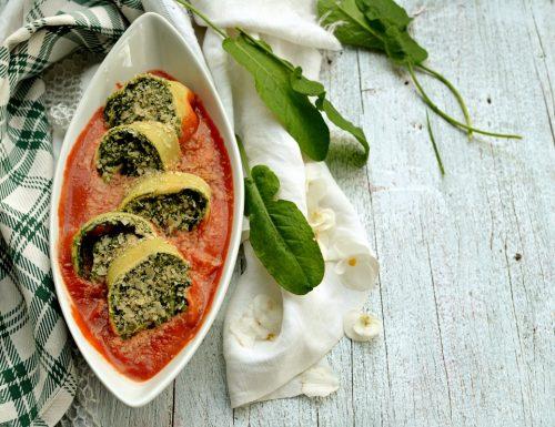 Rotolo ricotta e spinaci