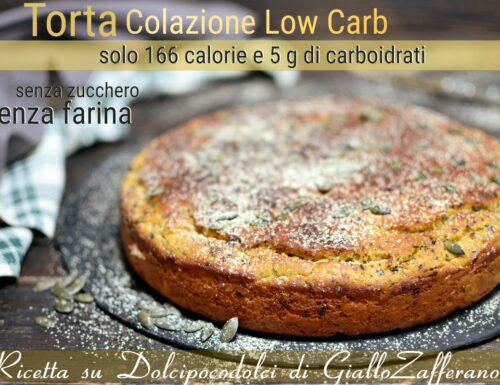 Torta ricotta e lupini morbida per colazione dieta low carb senza zucchero farina e glutine