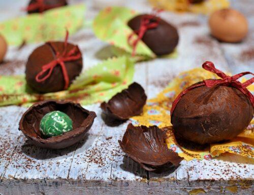 Ovetti di cioccolato fatti in casa