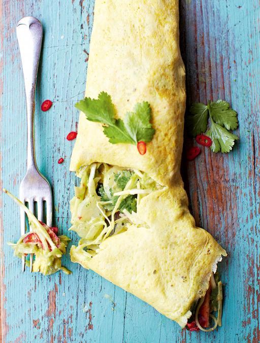 Omelette messicana