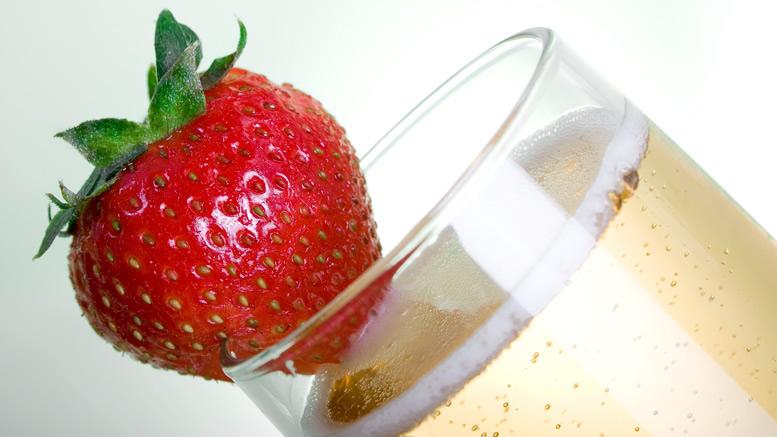 Champagne alla fragola