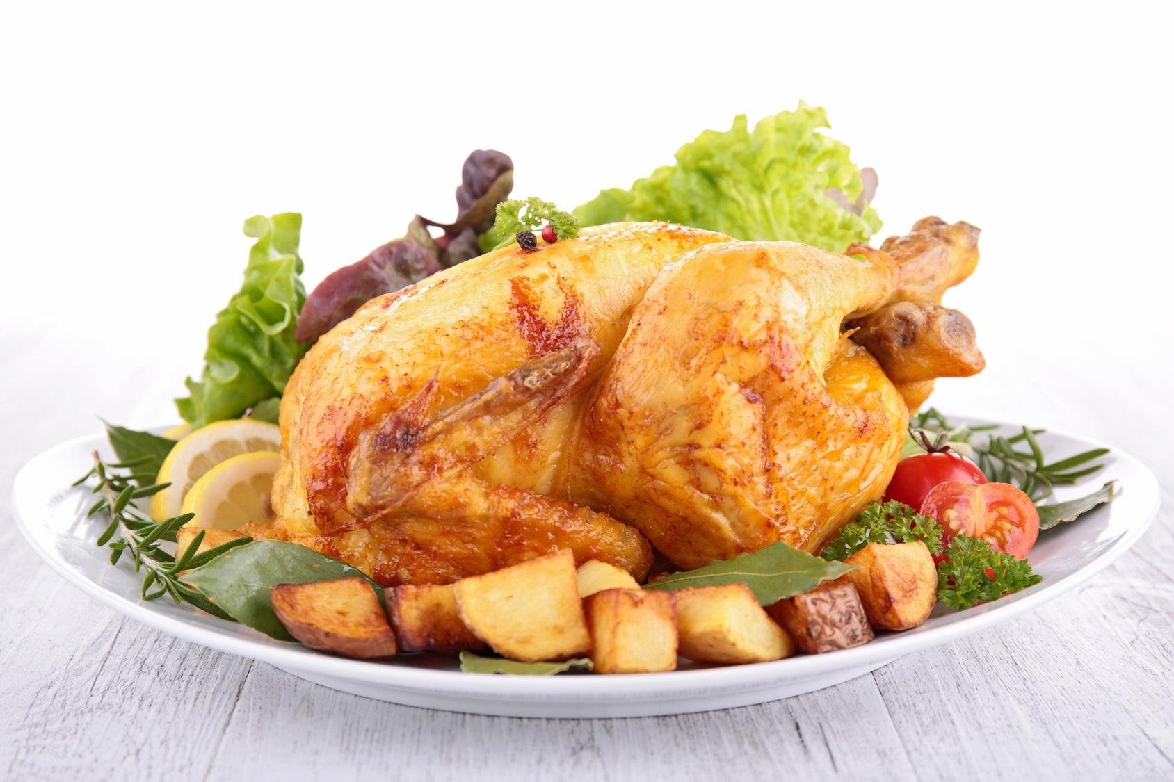 pollo arrosto nel microonde