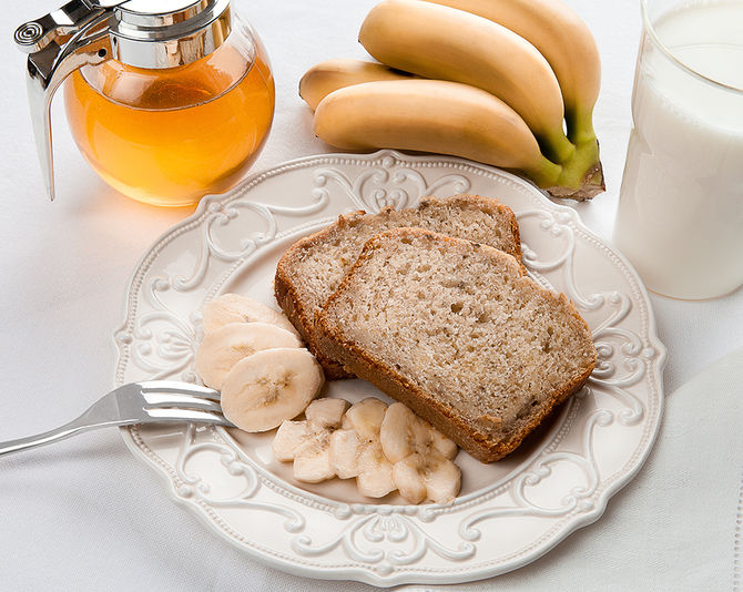Pane banane e miele