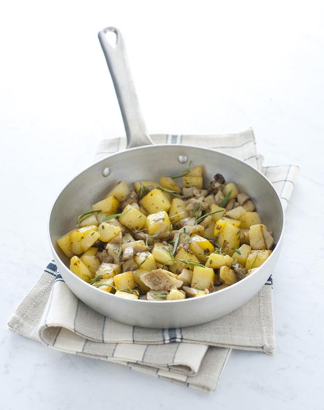 Padellata di funghi misti e patate