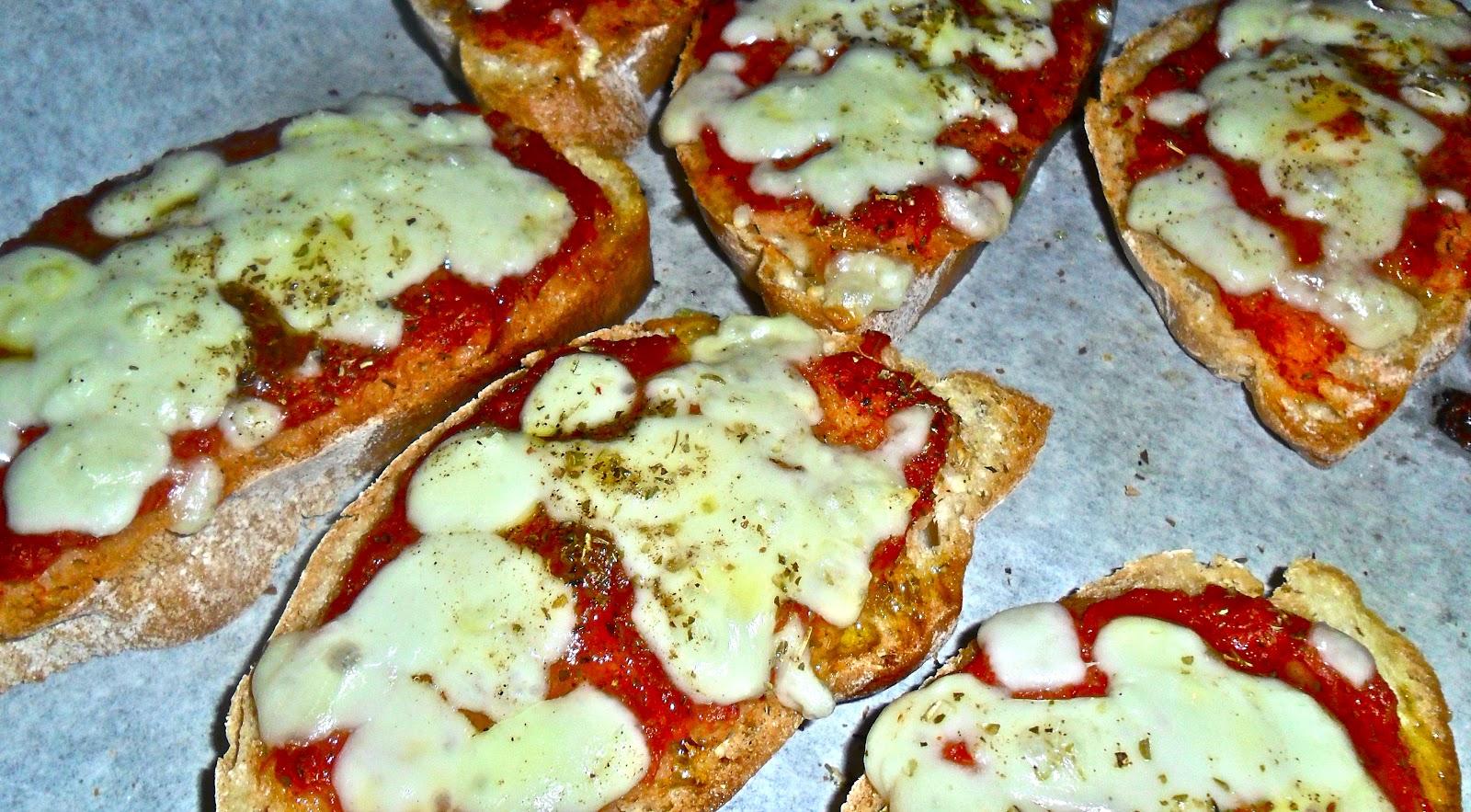 crostoni alla pizzaiola