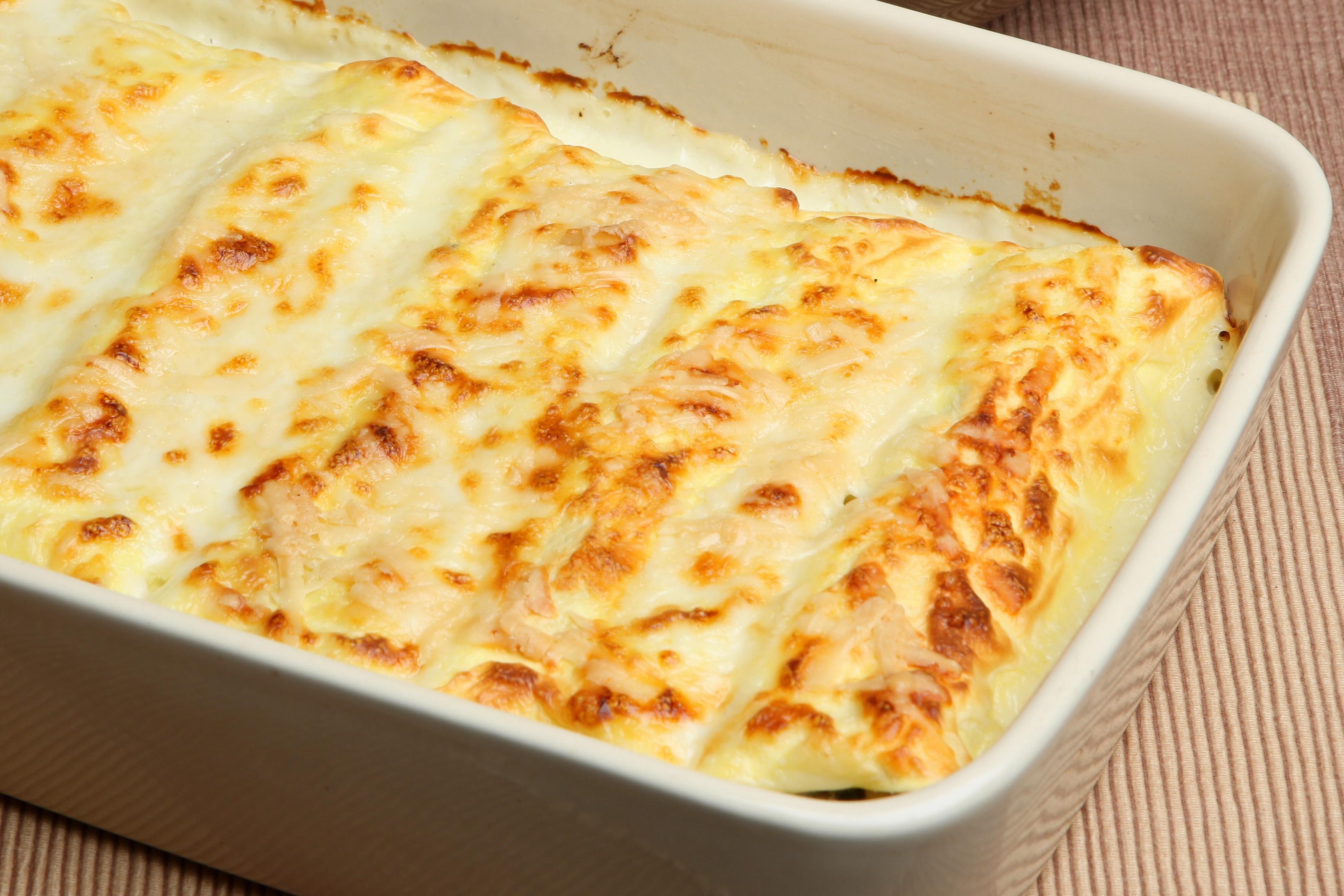 cannelloni ai formaggi