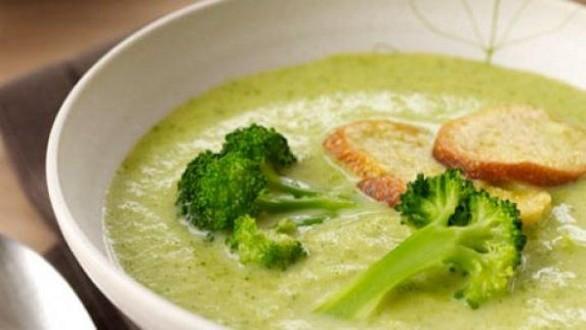 crema di broccoli e formaggio