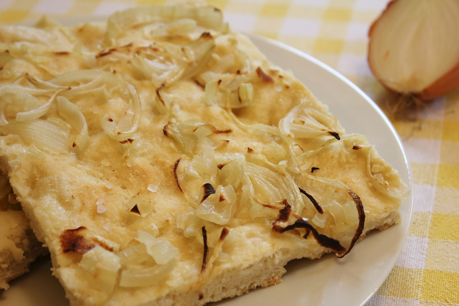 Ricette bimby focaccia con cipolle
