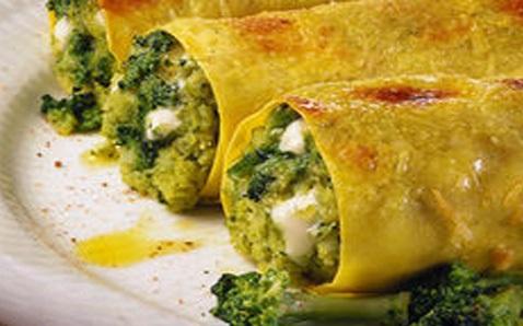 cannelloni ripieni ai broccoletti