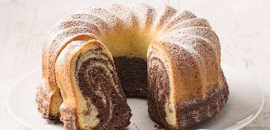 marmorkuchen (torta marmorizzata)
