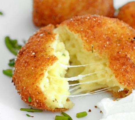 crocchette di patate al gorgonzola