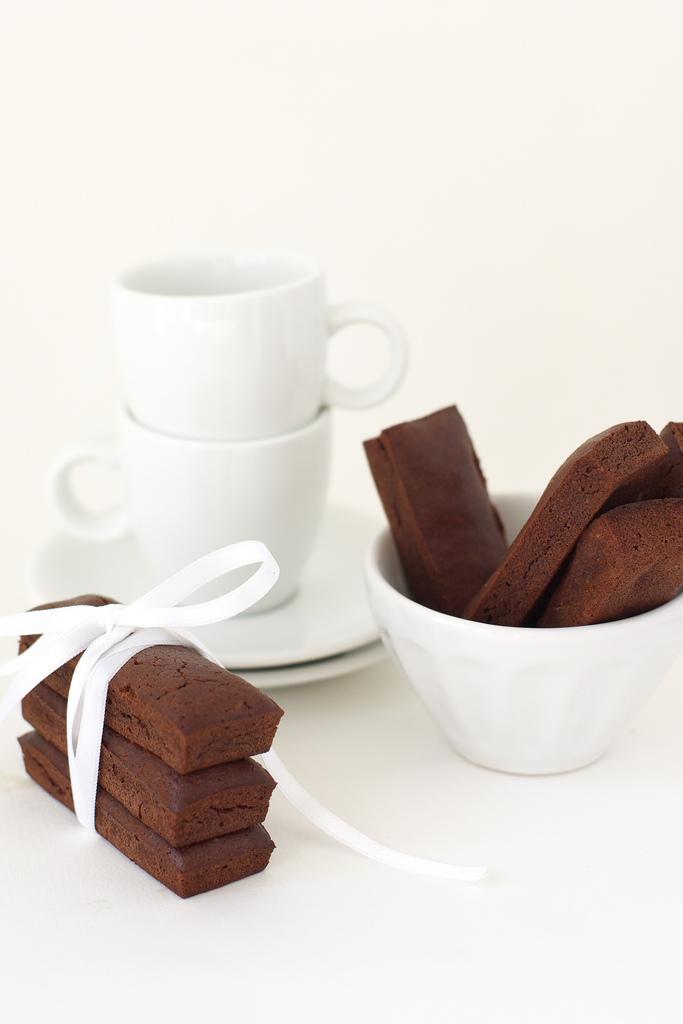 financiers au chocolat (financiers al cioccolato)