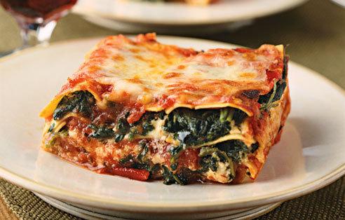 lasagne agli spinaci
