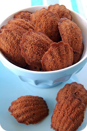 madeleines al cioccolato